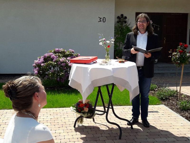 Heilpraktikerin Beate Rauch - Eröffnung